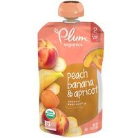 Plum Organics® Stage 2 Peach, Banana & Apricot Baby Food