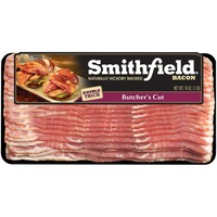 Smithfield Naturally Hickory Smoked Double Thick Butcher's Cut Bacon
