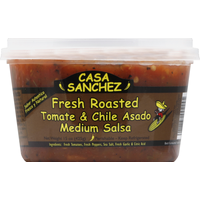 Casa Sanchez Salsa, Fresh Roasted Tomate & Chile Asado, Medium