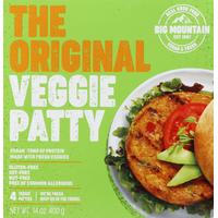 Big Mountain Foods Veggie Patty, the Original