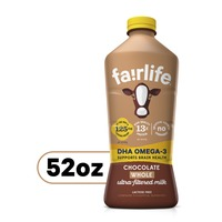 fairlife Whole Ultrafiltered Chocolate Milk With Dha Omega3, Lactose Free