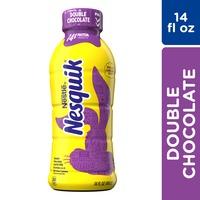 Nestle Nesquik Double Chocolate Lowfat Milk Ready to Drink