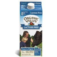 Organic Valley Ultra Pasteurized Reduced Fat Organic Lactose Free 2% Milk