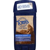 Tom's of Maine Deodorant, Mountain Spring, For Men