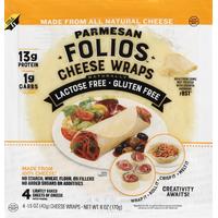 Folios Cheese Wraps, Parmesan