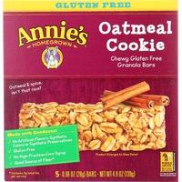 Annie's Homegrown Gluten Free Oatmeal Cookie Granola Bars Granola Bars