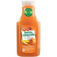 Tropicana Farmstand Farmstand 100% Fruit & Vegetable Peach Mango Flavor Juice