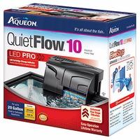 Aqueon Quiet Flow Aquarium Power Filters Model: Quiet Flow 10