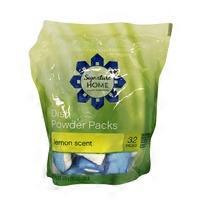 Signature Kitchen Dish Powder Packs Lemon Scent