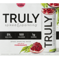 Truly Spiked Sparkling Water Pomegranate