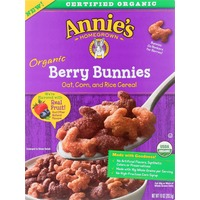 Annie's Homegrown Organic Berry Bunnies Cereal