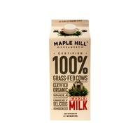 Maple Hill Creamery Grade A Organic Whole Milk Grassfed