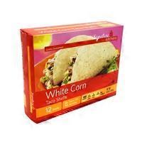 Signature Kitchen White Corn Taco Shells, 12 ct