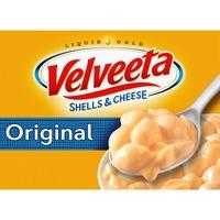 Kraft Velveeta Shells & Cheese Original Shell Pasta & Cheese Sauce Meal
