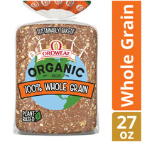 Brownberry/Arnold/Oroweat Organic 100% Whole Grain Bread
