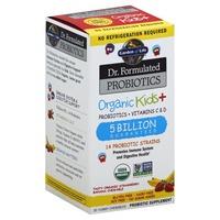 Garden of Life Probiotics +Vitamins C & D, Chewables, Organic Kids +, Strawberry Banana