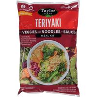 Taylor Farms Teriyaki Vegetable Meal Kit