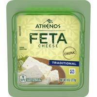 Athenos Traditional Feta Cheese Chunk