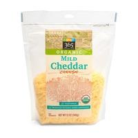 365 Organic Shredded Mild Cheddar