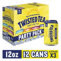 Twisted Tea Variety Party Pack, Hard Iced Tea