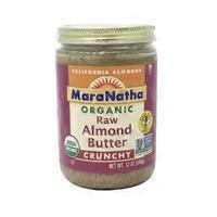 Maranatha Organic Raw Crunchy Almond Butter