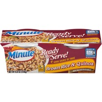 Minute Rice Ready to Serve Brown Rice & Quinoa