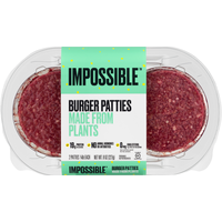 Impossible Burger Patties, Made from Plants