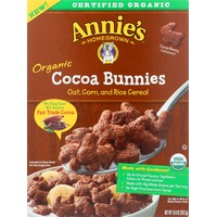 Annie's Homegrown Organic Cocoa Bunnies Cereal