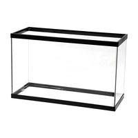 Aqueon 29 Gallon Black Standard Rectangular Glass Aquarium Tank