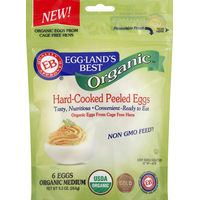 Eggland's Best Organic Hard Cooked Eggs