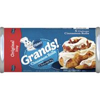 Pillsbury Grands! Cinnamon Rolls, Cinnabon Cinnamon & Icing, 5 Count