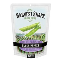 Harvest Snaps Black Pepper Snapea Crisps