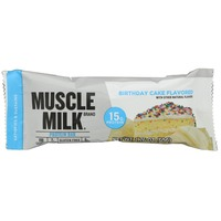 Muscle Milk Birthday Cake Flavored Protein Bar