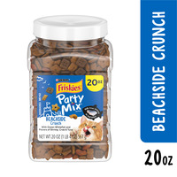 Friskies Made in USA Facilities Cat Treats, Party Mix Beachside Crunch