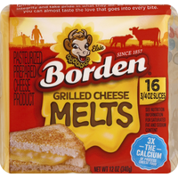 Borden Cheese Product, Pasteurized Prepared, Grilled Cheese Melts
