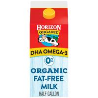 Horizon Organic DHA Omega-3 Fat Free Milk