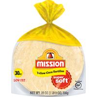 Mission Yellow Corn Tortillas