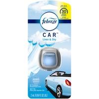 Febreze Odor-Eliminating Air Freshener Vent Clip, Linen & Sky