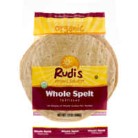 Rudi's Organic Bakery Tortillas, Organic, Whole Spelt