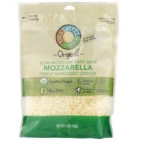 Full Circle Mozzarella Low-Moisture Part-Skim Finely Shredded Cheese