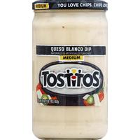 Tostitos Dip, Queso Blanco, Medium