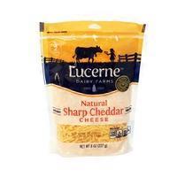 Lucerne Shredded Sharp Cheddar Cheese
