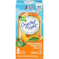 Crystal Light On-the-Go Peach Mango Green Tea Drink Mix