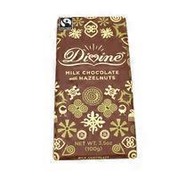 Divine Milk Chocolate With Hazelnuts