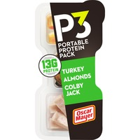 Oscar Mayer P3 Turkey Cheese Almonds