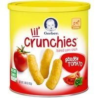Gerber Graduates Lil' Crunchies Garden Tomato Baked Corn Snack
