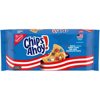 Nabisco Red, White & Blue Candy Chips Chocolate Chip Cookies