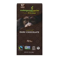 Endangered Species Chocolate Bar Natural Dark Chocolate