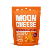 Moon Cheese Cheddar Believe It