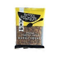 Seven Sundays Banana Pecan Muesli Bar